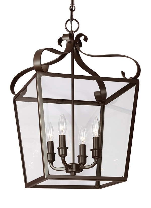 5119404 782,four Light Hall / Foyer,heirloom Bronze Inside Outdoor Hanging Carriage Lights (Photo 4 of 10)
