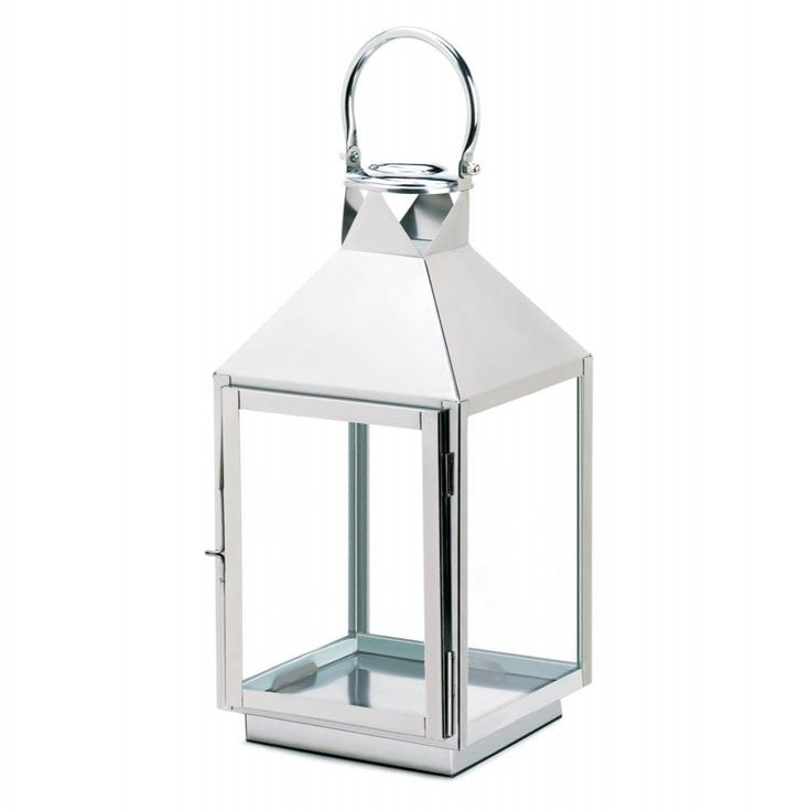 53 Best Stainlesssteellantern Images On Pinterest | Candle Lanterns in Outdoor Hanging Candle Lanterns at Wholesale (Image 2 of 10)