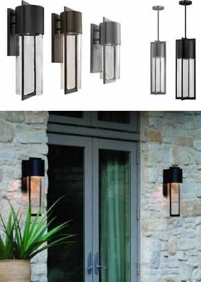 58 Best Outdoor Lighting Images On Pinterest | Exterior Lighting with Hinkley Outdoor Wall Lighting (Image 1 of 10)