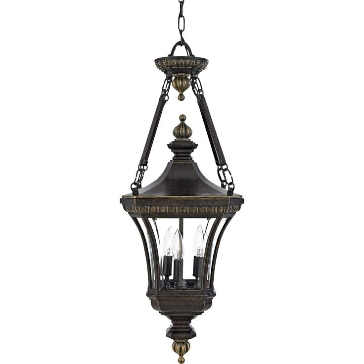 58 Best Traditional Outdoor Hanging Lights Images On Pinterest with Hanging Outdoor Light On Rod (Image 1 of 10)