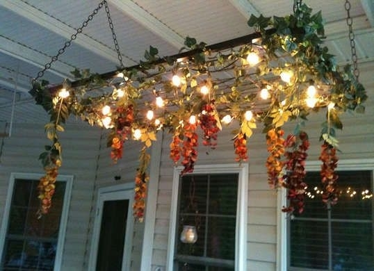 7 New Projects For Your Old Bedsprings | Outdoor Lighting with regard to Outdoor Hanging Grape Lights (Image 1 of 10)