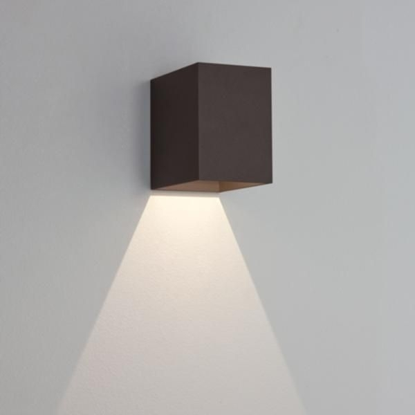 7109 Astro Oslo 100 Black | Modern Outdoor Wall Lighting Ip65 throughout Ip65 Outdoor Wall Lights (Image 1 of 10)
