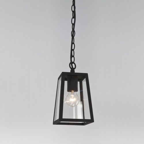 7112 Calvi Outdoor Pendant Light - Outdoor Pendant Light, Made From for Outdoor Hanging Light in Black (Image 6 of 10)