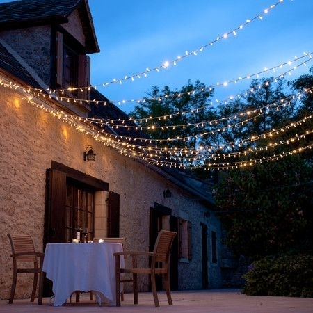80 Led Warm White Fairy Lights Connectable, 8M Clear Cable | Garden With Regard To Outdoor Hanging Fairy Lights (Photo 7 of 10)