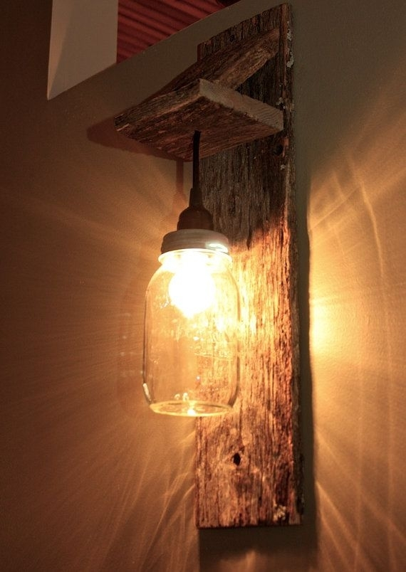 89 Best 조명 Images On Pinterest | Lighting Ideas, Wood And Home Throughout Diy Outdoor Wall Lights (Photo 2 of 10)