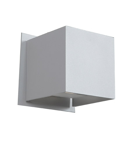 Access 20399Ledmg-Wh Square Led 4 Inch White Outdoor Wall Sconce within Access Lighting Outdoor Wall Sconces (Image 1 of 10)