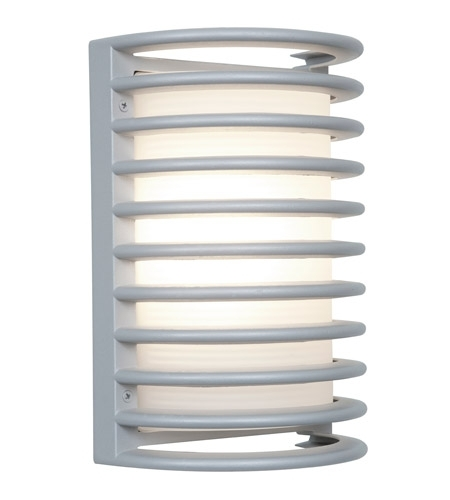 Access Lighting Poseidon 1 Light Outdoor Wall In Satin 20300Mg-Sat/rfr inside Access Lighting Outdoor Wall Sconces (Image 8 of 10)