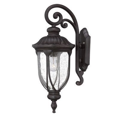 Acclaim Lighting Laurens 1 Light Outdoor Wall Lantern & Reviews within Acclaim Lighting Outdoor Wall Lights (Image 5 of 10)