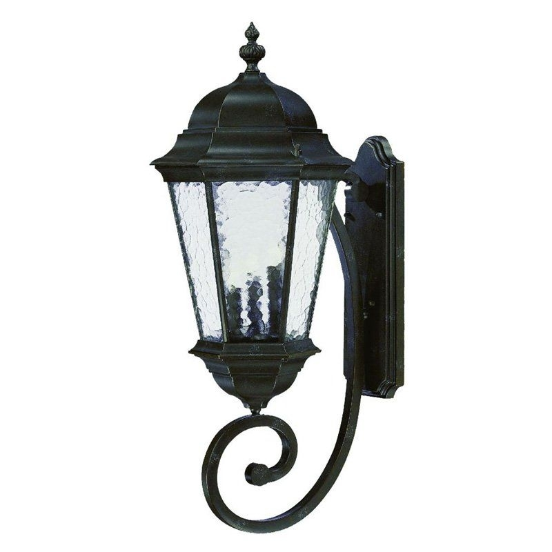 Acclaim Lighting Telfair 3 Light Outdoor Wall Mount Light Fixture for Acclaim Lighting Outdoor Wall Lights (Image 6 of 10)