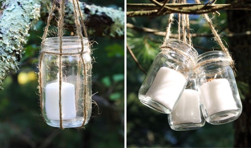 Adorable Outdoor Candle Lanterns Diy Hanging Candle Lanterns For regarding Outdoor Hanging Lanterns With Candles (Image 4 of 10)