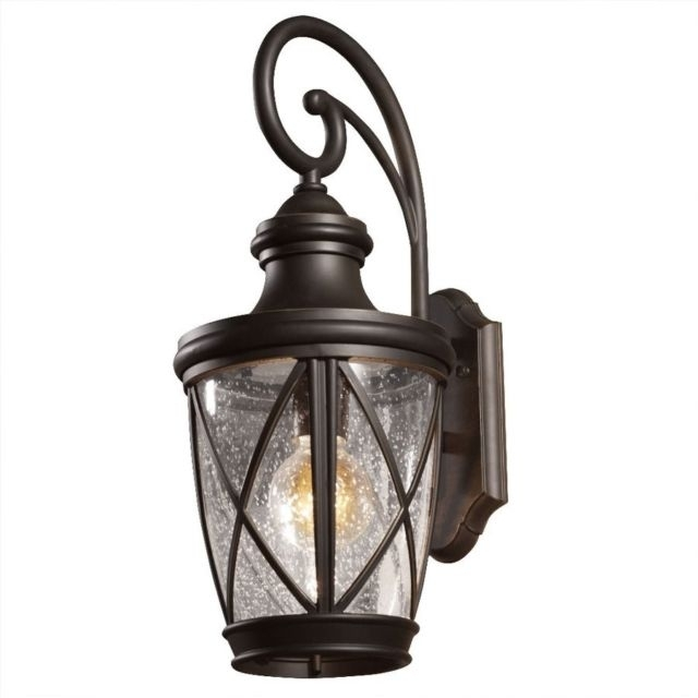 Allen Roth Castine Outdoor Wall Light 39426 Ebay Pertaining To regarding Outdoor Wall Lighting at Ebay (Image 1 of 10)