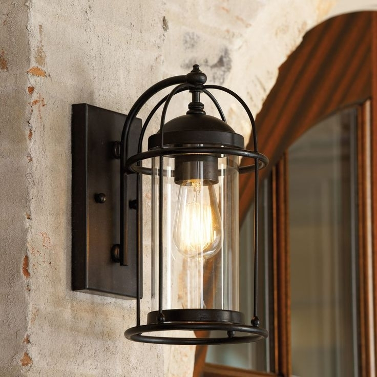 Featured Photo of Extra Large Outdoor Wall Lighting