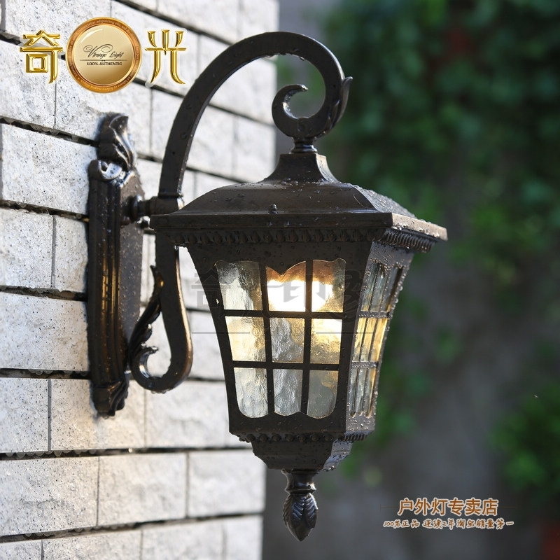 Antique Outdoor Wall Lighting Video And Photos Madlonsbigbear in Antique Outdoor Wall Lights (Image 4 of 10)