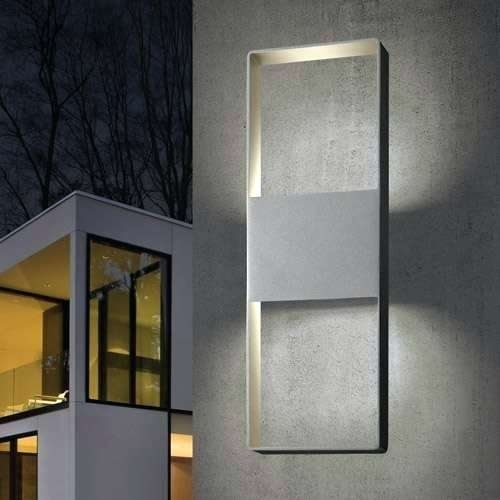 Architectural Outdoor Wall Lighting in Architectural Outdoor Wall Lighting (Image 2 of 10)