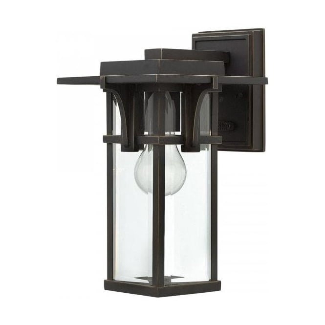 Art Deco Style Dark Bronze Outdoor Lanterns, Ip44 Safe For Exterior Use regarding Art Deco Outdoor Wall Lights (Image 3 of 10)
