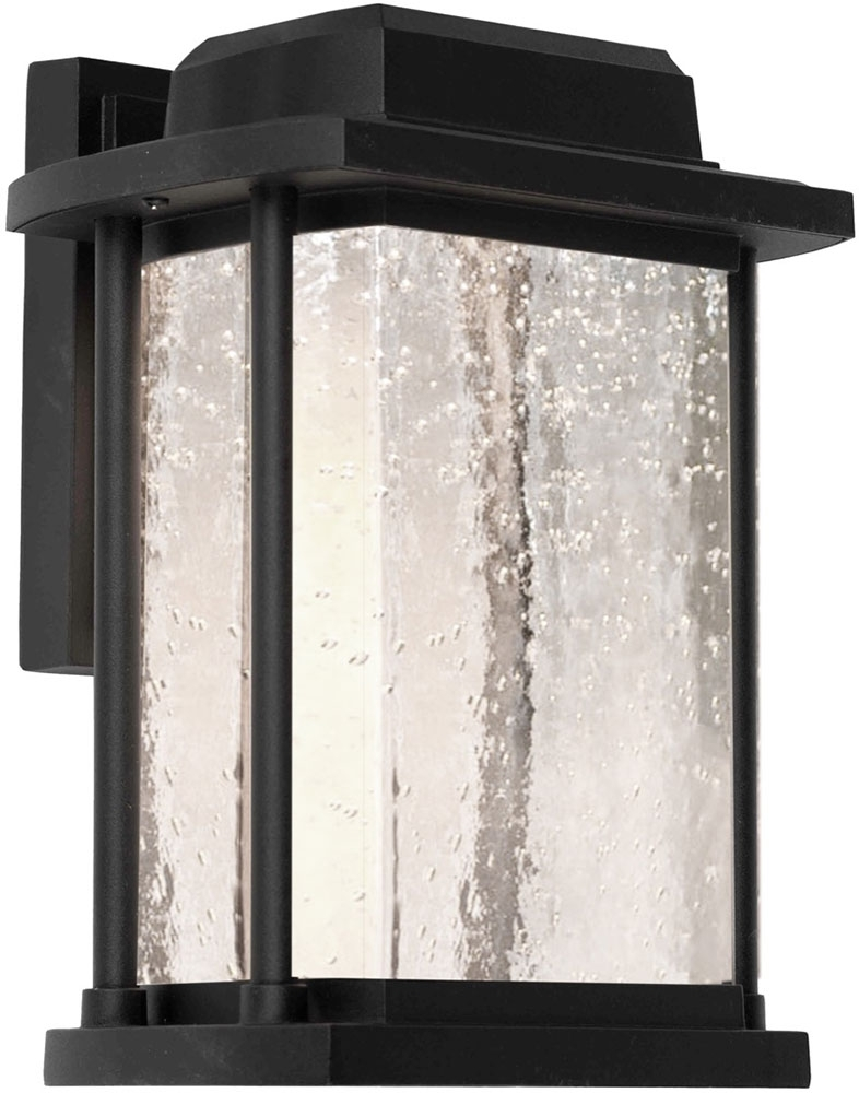 Artcraft Ac9122Bk Addison Led Outdoor Wall Sconce Lighting - Art within Outdoor Wall Sconce Lighting Fixtures (Image 3 of 10)