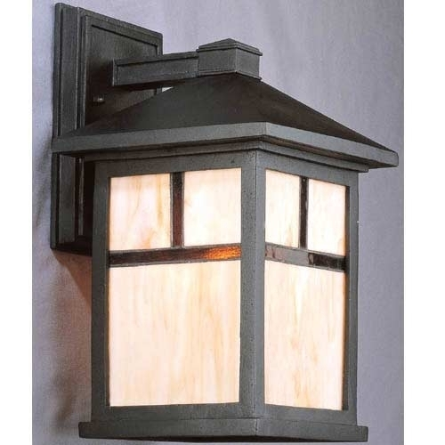 Arts And Crafts Style Outdoor Lighting 15134 Contemporary Mission 0 for Mission Style Outdoor Wall Lighting (Image 2 of 10)