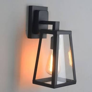 Athena Wall Light - Indoor Or Outdoor With Edison Bulb - Top Image throughout Johannesburg Outdoor Wall Lights (Image 3 of 10)