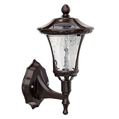 Attractive Outdoor Solar Wall Sconce Powered With Regard To Lights with regard to Solar Powered Outdoor Wall Lights (Image 2 of 10)