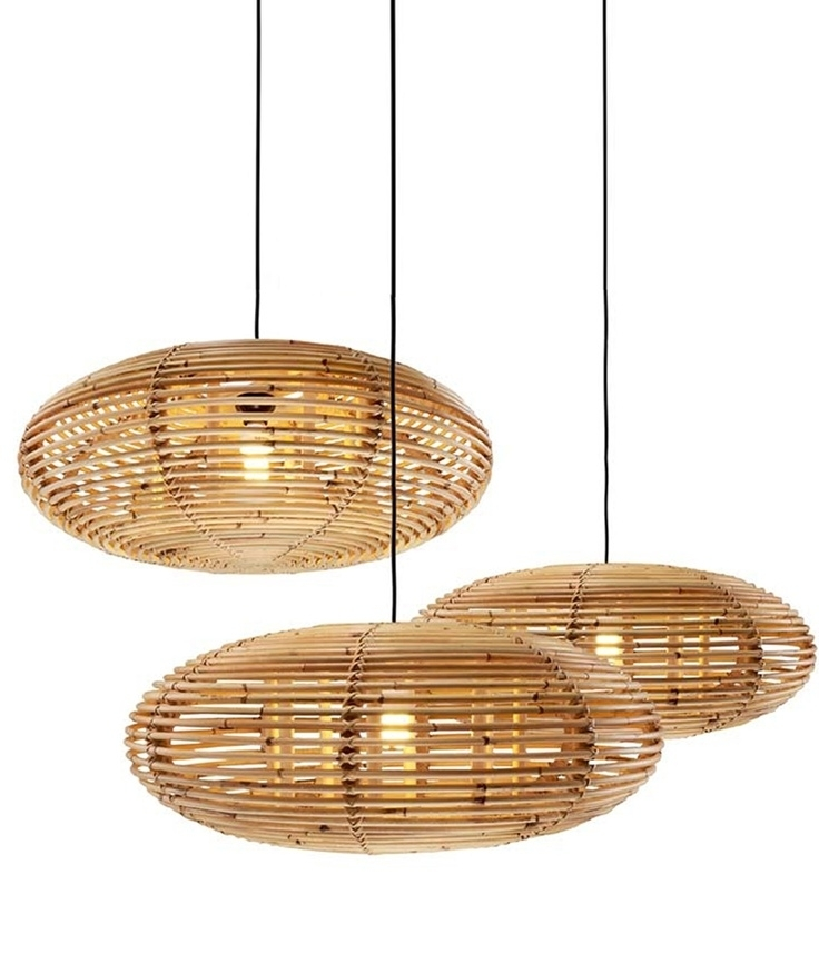 Attractive Wicker Pendant Light Where To Buy Rattan Lamp For With in Outdoor Hanging Wicker Lights (Image 3 of 10)
