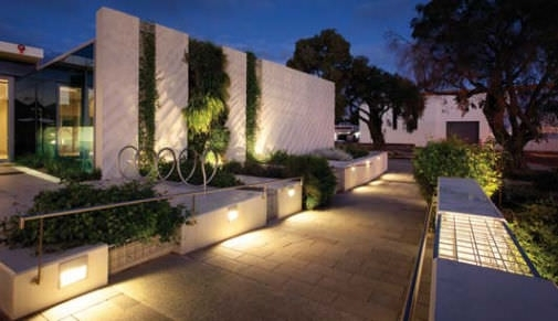 Awesome Recessed Landscape Lighting Wall Light Fixture In Exterior in Recessed Outdoor Wall Lighting (Image 1 of 10)