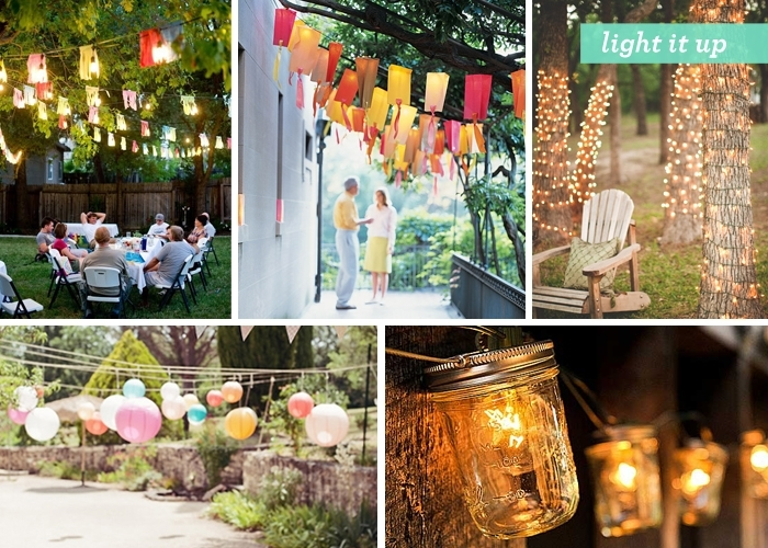 Backyard Gone Glam #1: Outdoor Party Decoration Ideas - Cardstore Blog with regard to Outdoor Hanging Party Lanterns (Image 3 of 10)