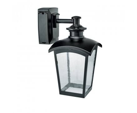 Bathroom Light Fixture With Electrical Outlet Buy Outdoor Wall with regard to Outdoor Wall Lighting With Outlet (Image 2 of 10)
