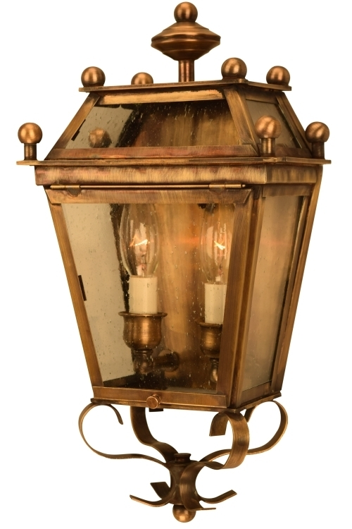 Beacon Wall Sconce Electric Copper Lantern For Sale Regarding Beacon Lighting Outdoor Wall Lights (Image 5 of 10)