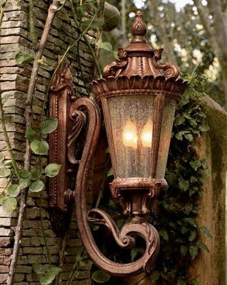 Beautiful Outdoor Wall Sconce!! From Looking For Rainbows In The for Tuscan Outdoor Wall Lighting (Image 3 of 10)