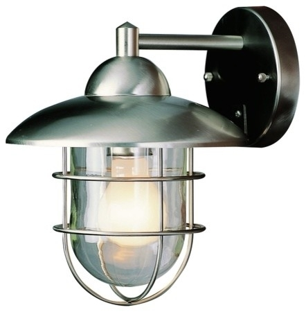 Popular Photo of Outdoor Wall Light Fixtures At Lowes