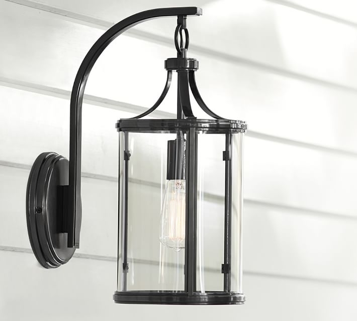 Belden Indoor/outdoor Sconce | Pottery Barn regarding Pottery Barn Outdoor Wall Lighting (Image 2 of 10)