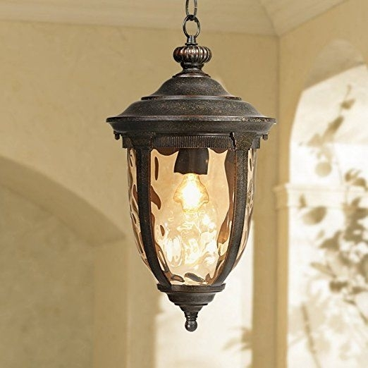 "Bellagio Collection 18"" High Outdoor Hanging Light - Pendant Porch regarding Outdoor Hanging Lanterns At Amazon (Image 2 of 10)"