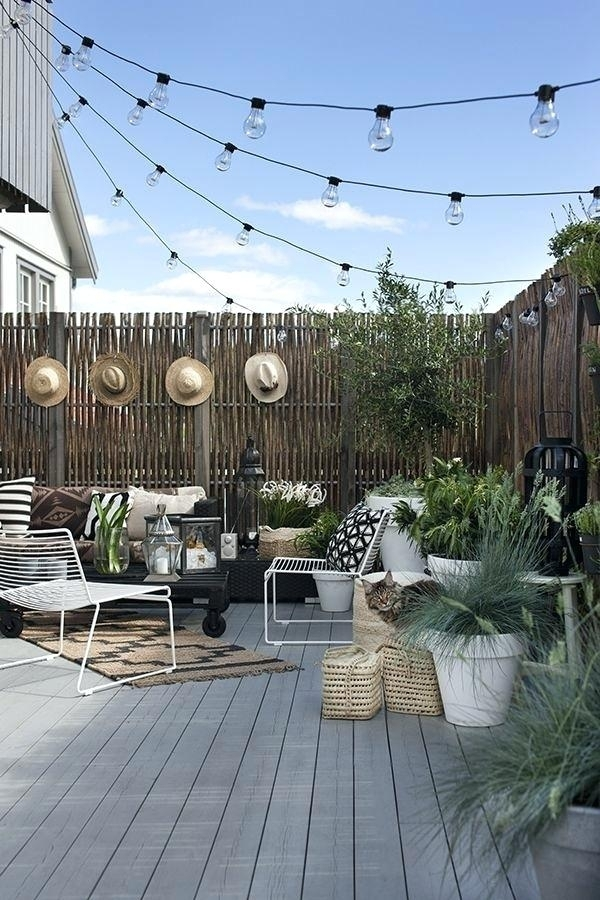 Best 25 Outdoor Hanging Lights Ideas On Pinterest Patio Hommum with Hanging Outdoor Lights on Brick (Image 2 of 10)