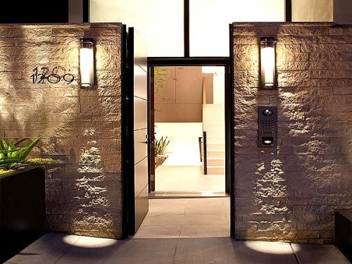 Best Outdoor Patio Wall Lights Outside Wall Light Fixtures Outdoor For Outdoor Exterior Wall Lighting (View 2 of 10)