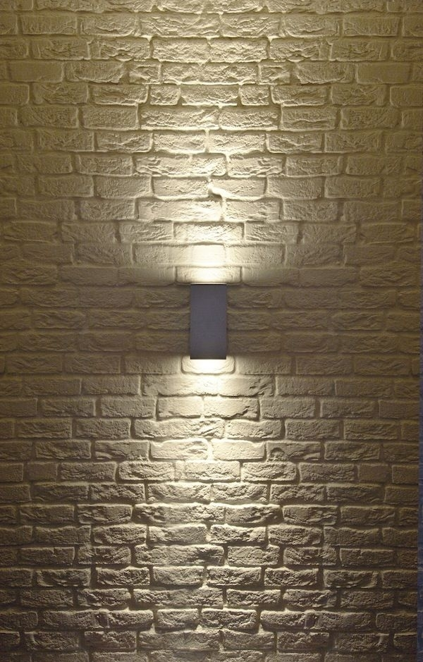 Big Theo Up/ Down Exterior Wall Sconceslv Lighting | 229574U throughout Outdoor Wall Accent Lighting (Image 2 of 10)