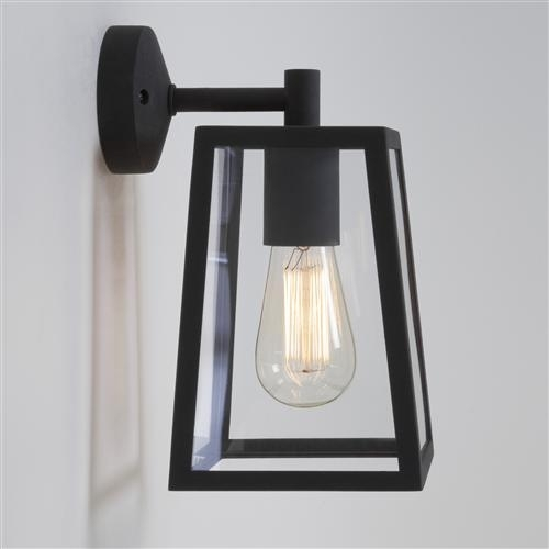 Black Outdoor Wall Lights | The Lighting Superstore with Outdoor Wall Spotlights (Image 2 of 10)
