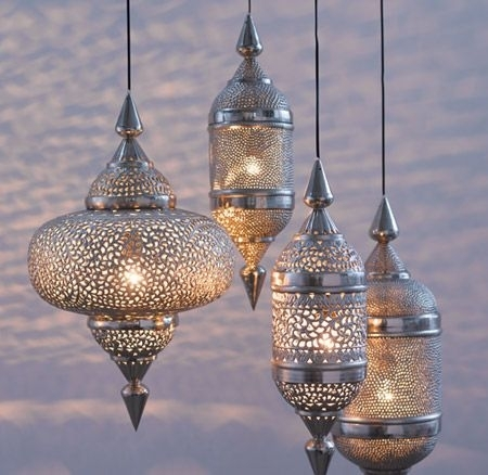 Bohemian - I Love These - Saw Huge Ones In Cairo At The Mena House inside Outdoor Hanging Moroccan Lanterns (Image 1 of 10)