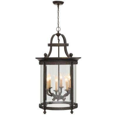 Bronze - Outdoor Hanging Lights - Outdoor Ceiling Lighting - The intended for Outdoor Hanging Lights At Home Depot (Image 1 of 10)