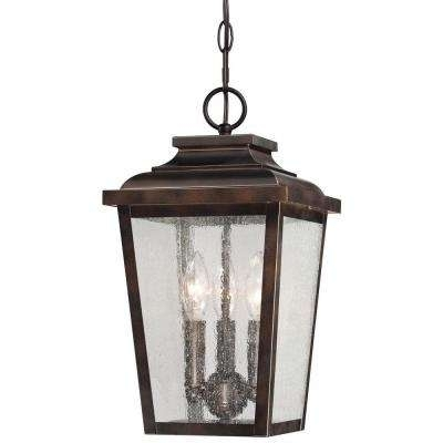 Bronze – Outdoor Hanging Lights – Outdoor Ceiling Lighting – The With Regard To Outdoor Hanging Lights At Home Depot (View 5 of 10)