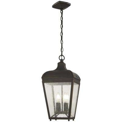 Bronze - Outdoor Lanterns - Incandescent - Outdoor Ceiling Lighting within Oil Rubbed Bronze Outdoor Hanging Lights (Image 1 of 10)