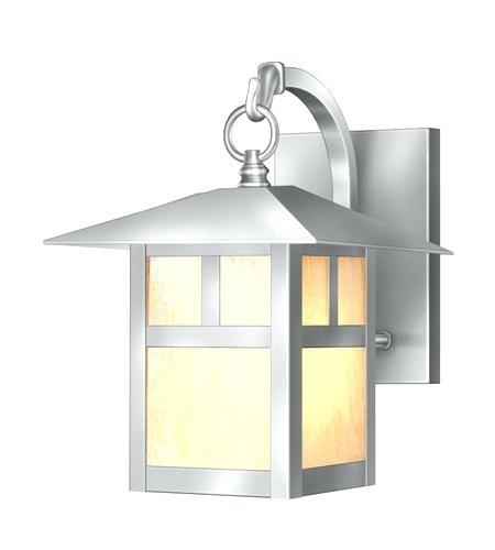 Brushed Nickel Outdoor Wall Lights – Therav regarding Brushed Nickel Outdoor Wall Lighting (Image 4 of 10)