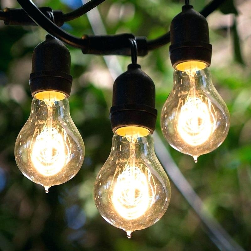 Target Outdoor String Lights Replacement Bulbs: 10 Photos Hanging Outdoor String Lights At Target