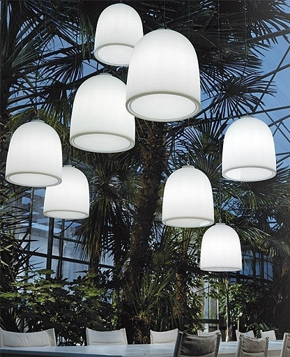 Campanone Outdoor Pendant Light | Pendant Lighting, Modern And Lights pertaining to Modern Outdoor Hanging Lights (Image 2 of 10)