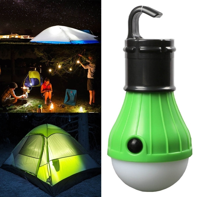 Camping Lanterns Portable Hanging Lantern Hiking Light Outdoor in Outdoor Hanging Lights for Campers (Image 2 of 10)