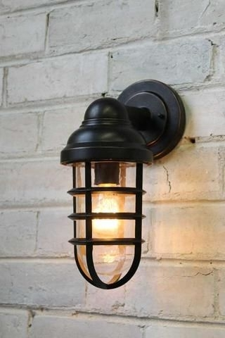 Canal-Outdoor-Wall-Light-In-Antique-Bronze-Finish | My House pertaining to Vintage Outdoor Wall Lights (Image 2 of 10)
