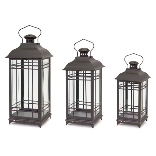 Candle Lanterns, Outdoor Hanging Lanterns, Decorative On Sale inside Outdoor Hanging Lanterns With Candles (Image 5 of 10)