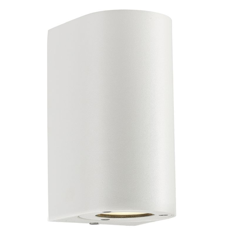 Canto Maxi Outdoor Wall Light - White intended for Outdoor Wall Lights in White (Image 3 of 10)
