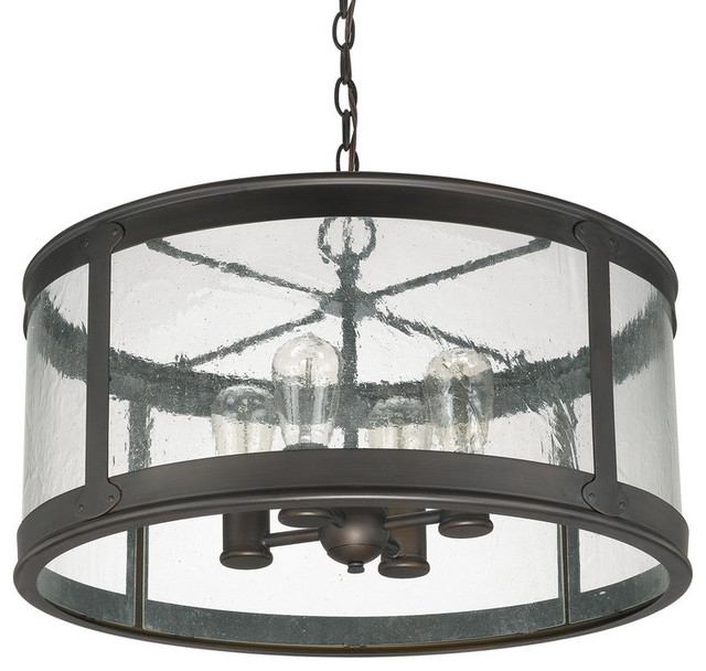 Capital Lighting 9568 The Dylan Collection 4 Light Outdoor Pendant within Extra Large Outdoor Hanging Lights (Image 2 of 10)