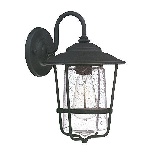 Capital Lighting 9601Bk Creekside Outdoor Wall Light In Black | Ebay with Outdoor Wall Lighting At Ebay (Image 3 of 10)