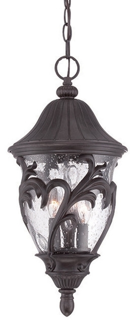 Capri Collection Hanging Lantern 3-Light Outdoor Light - Tropical pertaining to Tropical Outdoor Hanging Lights (Image 2 of 10)